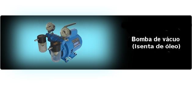 Bomba de vácuo com alta qualidade, design moderno e compacto